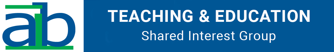 AIB Teaching and Education Shared Interest Group (SIG) Logo